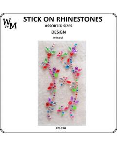 W&M Stick-On Rhinestones...