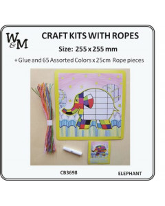 W&M Craft Kit - Elephant...