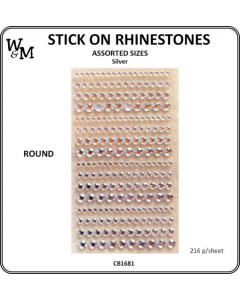 W&M Stick on Rhinostones...